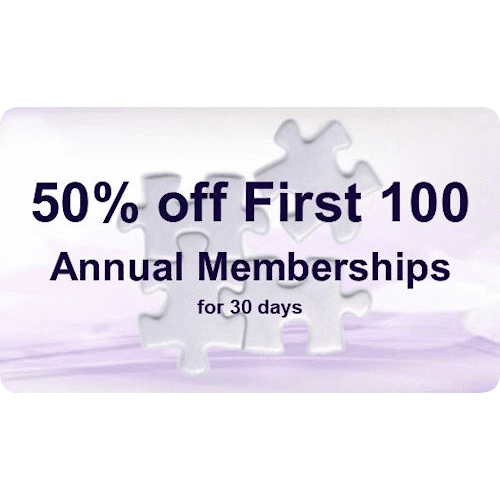 50% off First 100