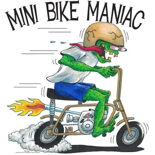Golden Pinto Mini Bike Maniac
